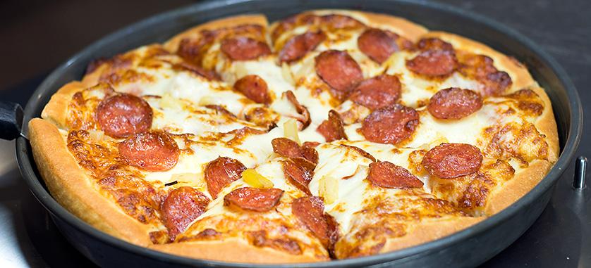 pizza hut jönköping lunch